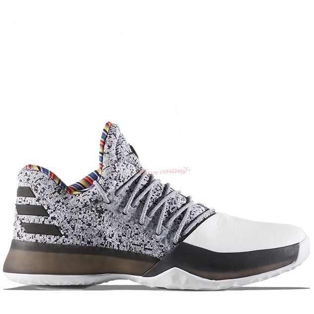 "Adidas Harden Vol 1 ""Black History Month"" Blanc Noir (by3473) Chaussure de Basket"