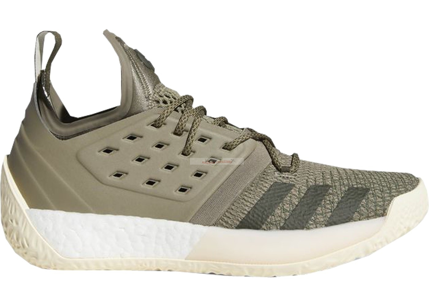 "Adidas Harden Vol 2 ""Trace Cargo"" Olive (aq0027) Chaussure de Basket"