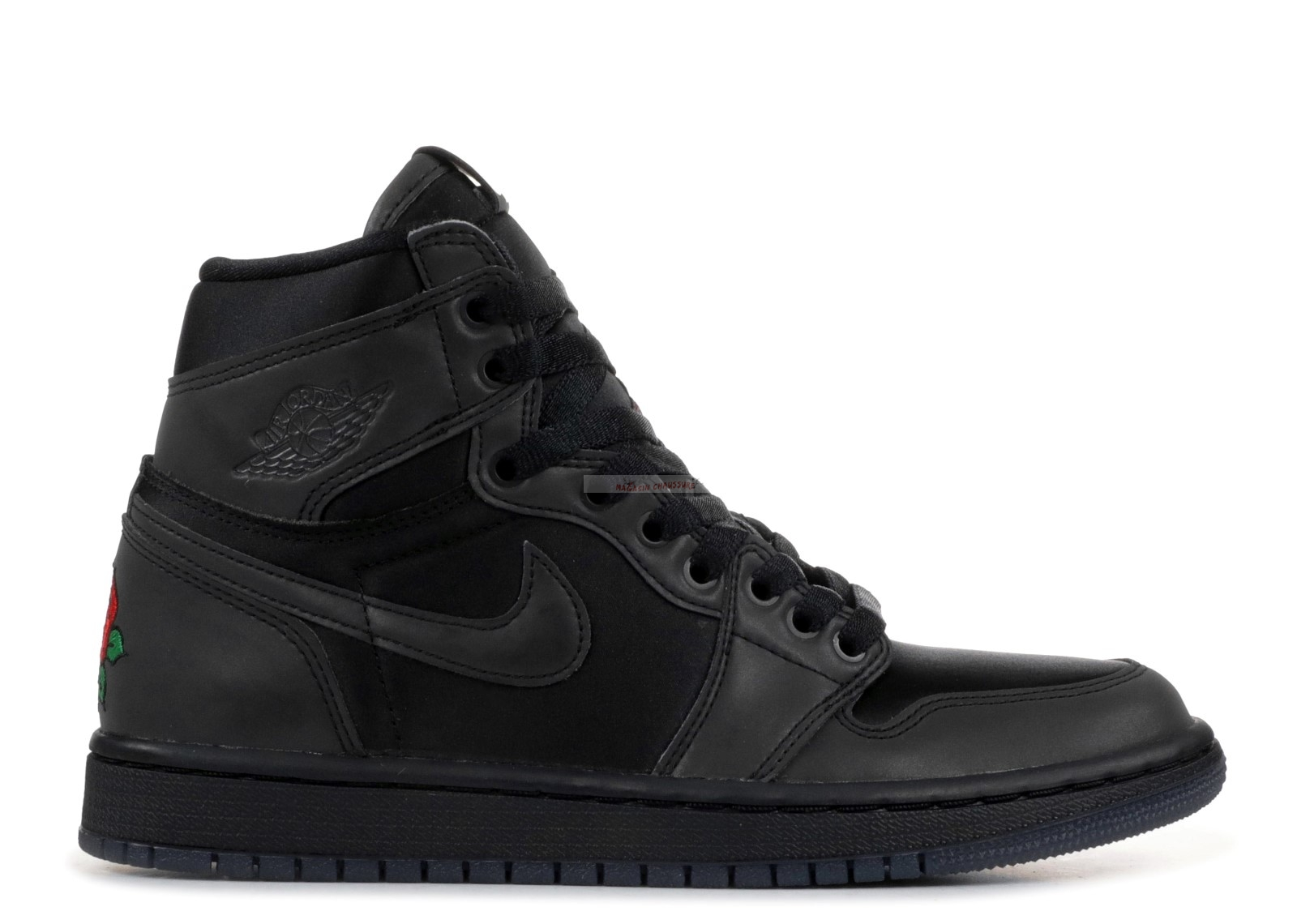 "Air Jordan 1 - Femme Retro High ""Rox Brown"" Noir (bv1576-001) Chaussure de Basket"