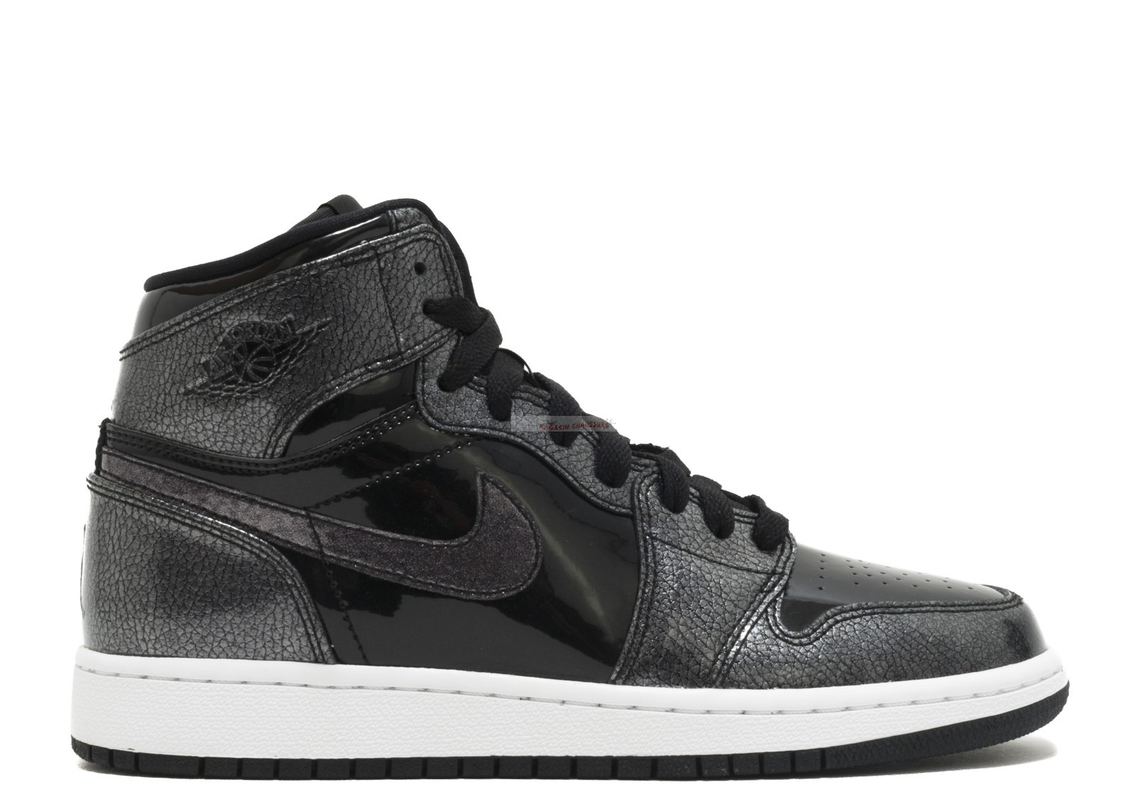 Air Jordan 1 Retro High Bg Noir (705300-017) Chaussure de Basket