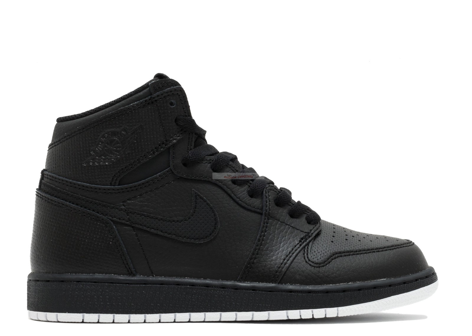 Air Jordan 1 Retro High Og Bg (Gs) Noir (575441-002) Chaussure de Basket