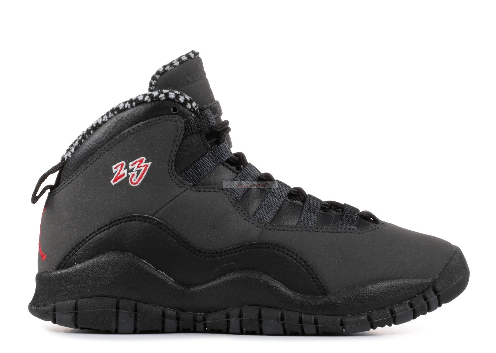 "Air Jordan 10 Retro (Gs) ""Countdown Pack"" Noir (310806-061) Chaussure de Basket"