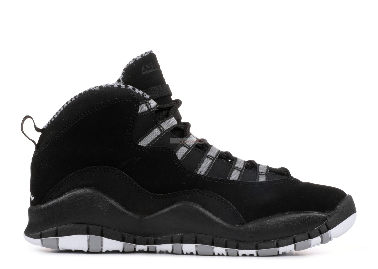 "Air Jordan 10 Retro (Gs) ""Stealth"" Noir (310806-003) Chaussure de Basket"