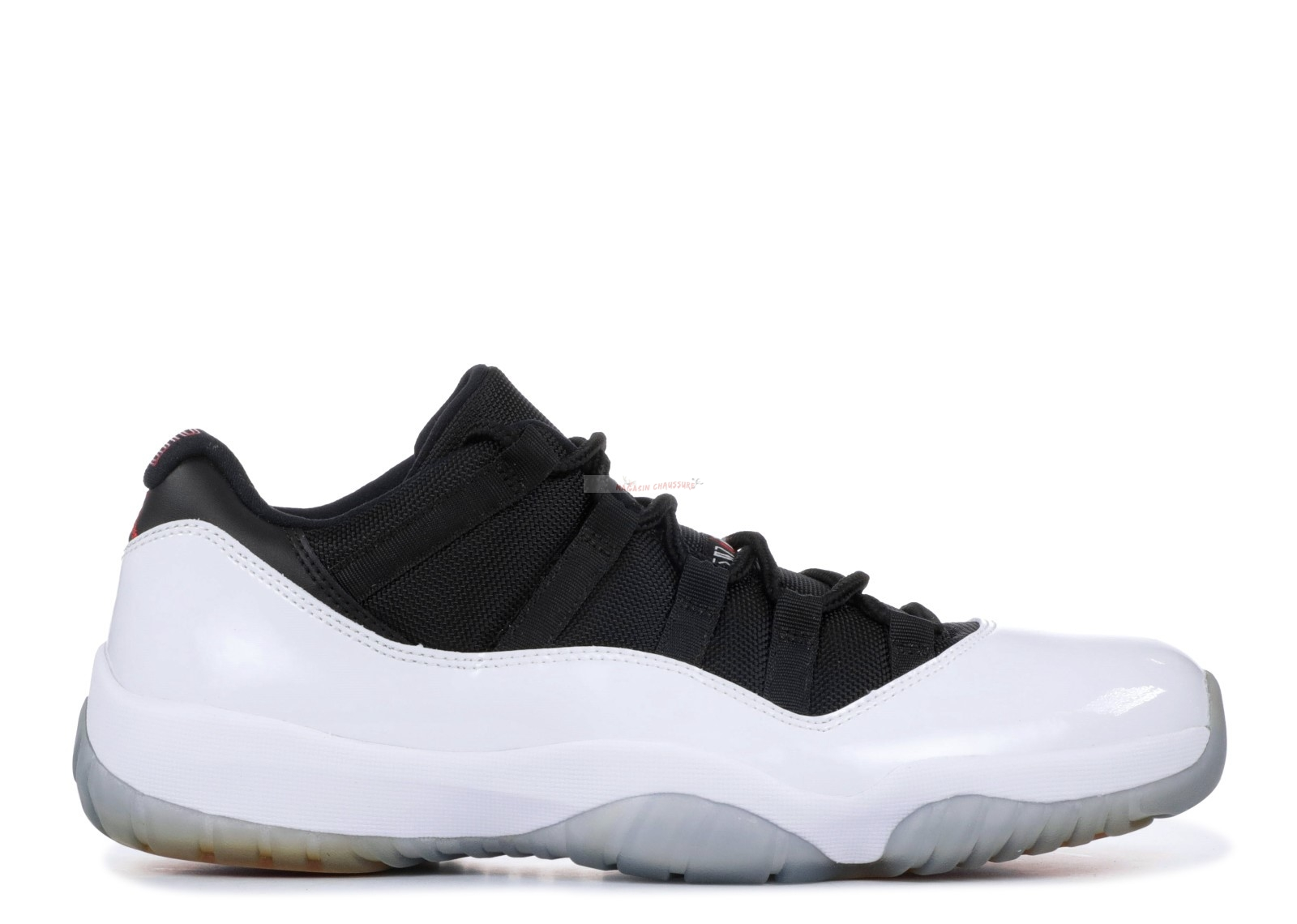 Air Jordan 11 Retro Low Noir Blanc (528895-110) Chaussure de Basket