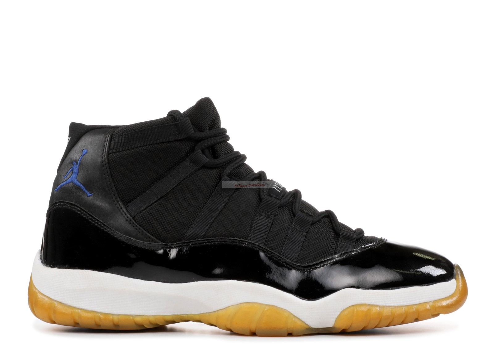 "Air Jordan 11 Retro ""Space Jam 2000 Release"" Noir Blanc (136046-041) Chaussure de Basket"