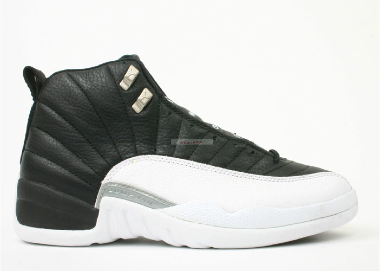 "Air Jordan 12 (Og) ""Playoff"" Noir Blanc (136001-016) Chaussure de Basket"