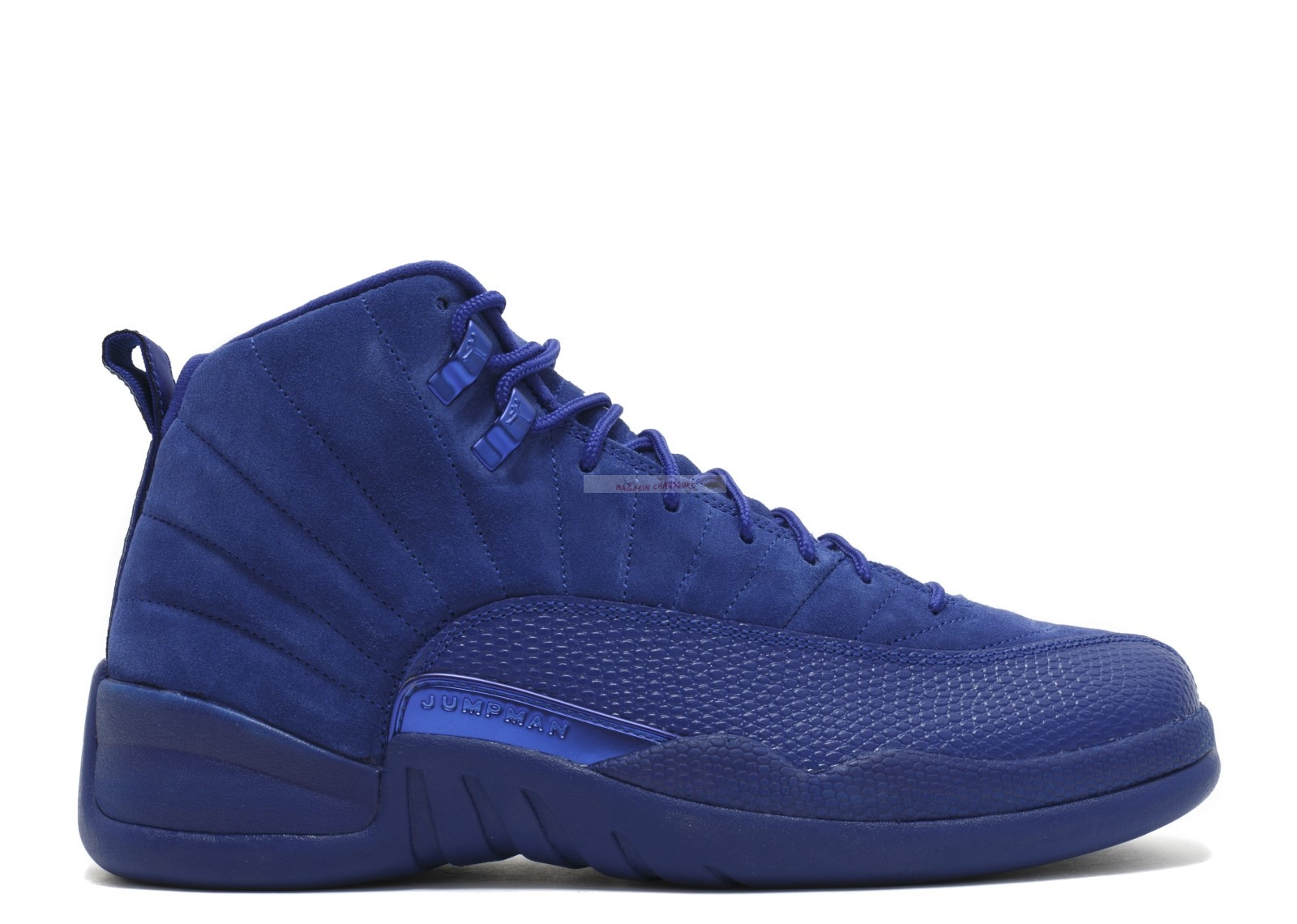 "Air Jordan 12 Retro ""Deep Royal"" Bleu (130690-400) Chaussure de Basket"