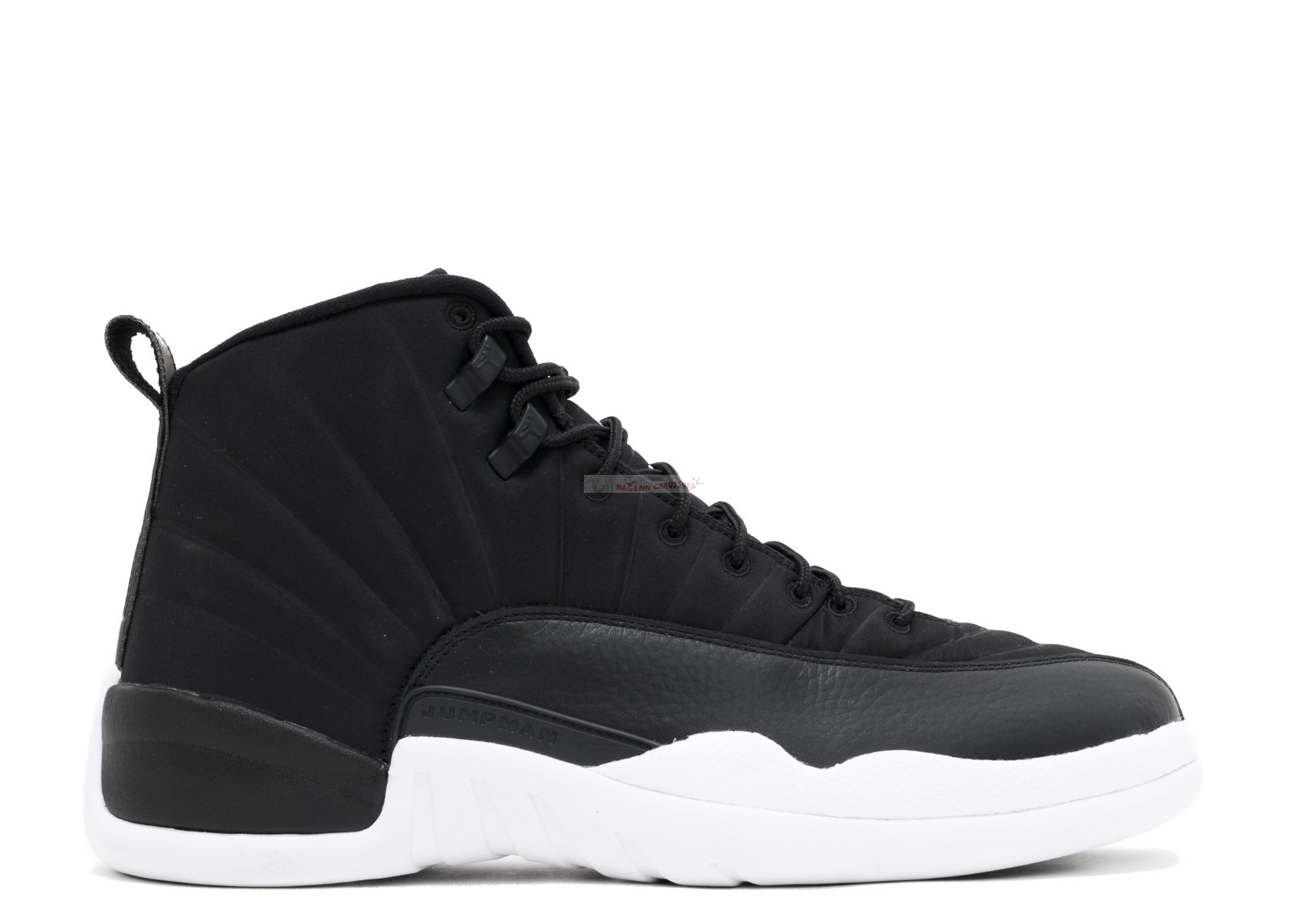 "Air Jordan 12 Retro ""Friends And Family Psny"" Noir Blanc (h014mnjdls849ln3) Chaussure de Basket"