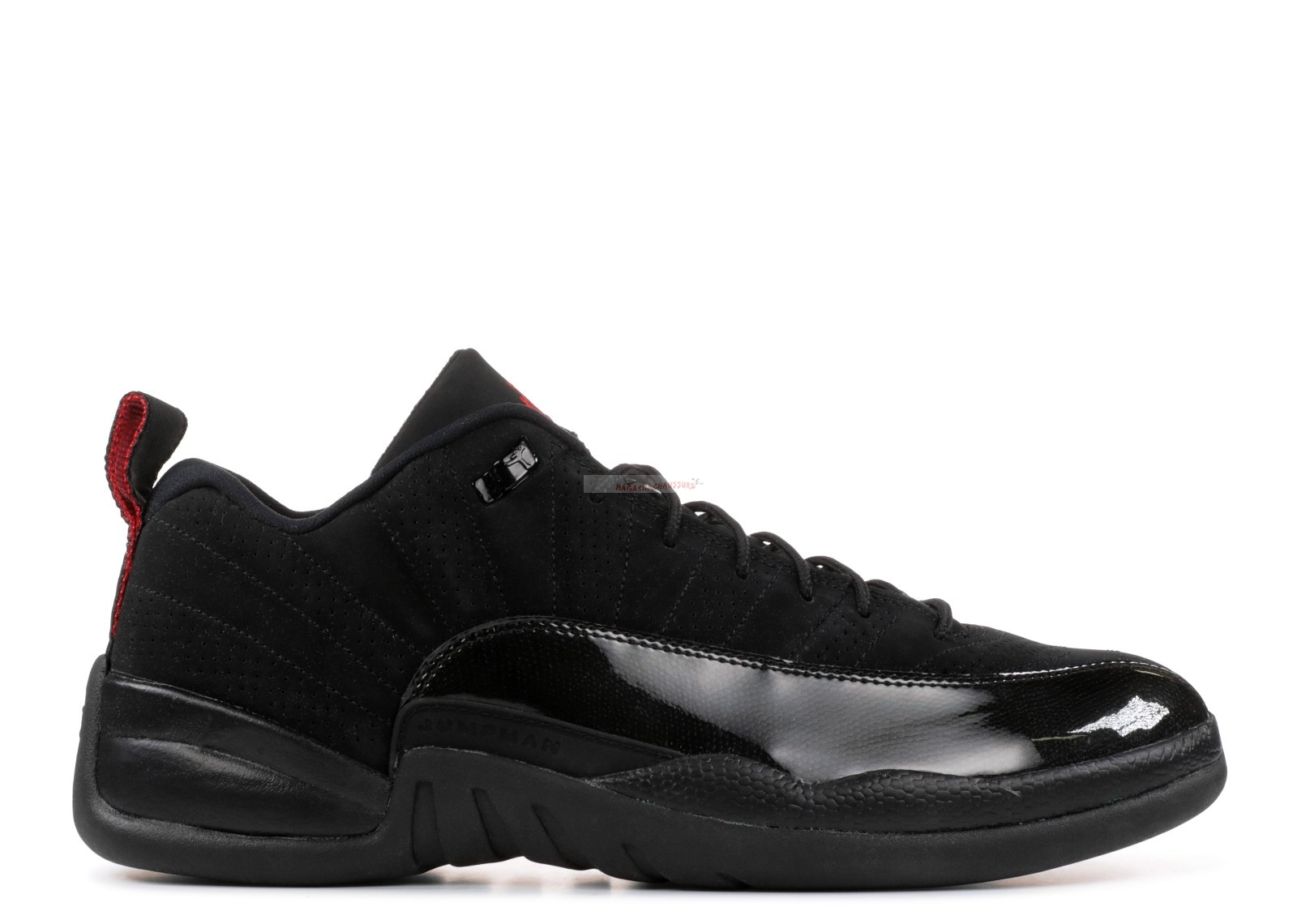 Air Jordan 12 Retro Low Noir (308317-001) Chaussure de Basket