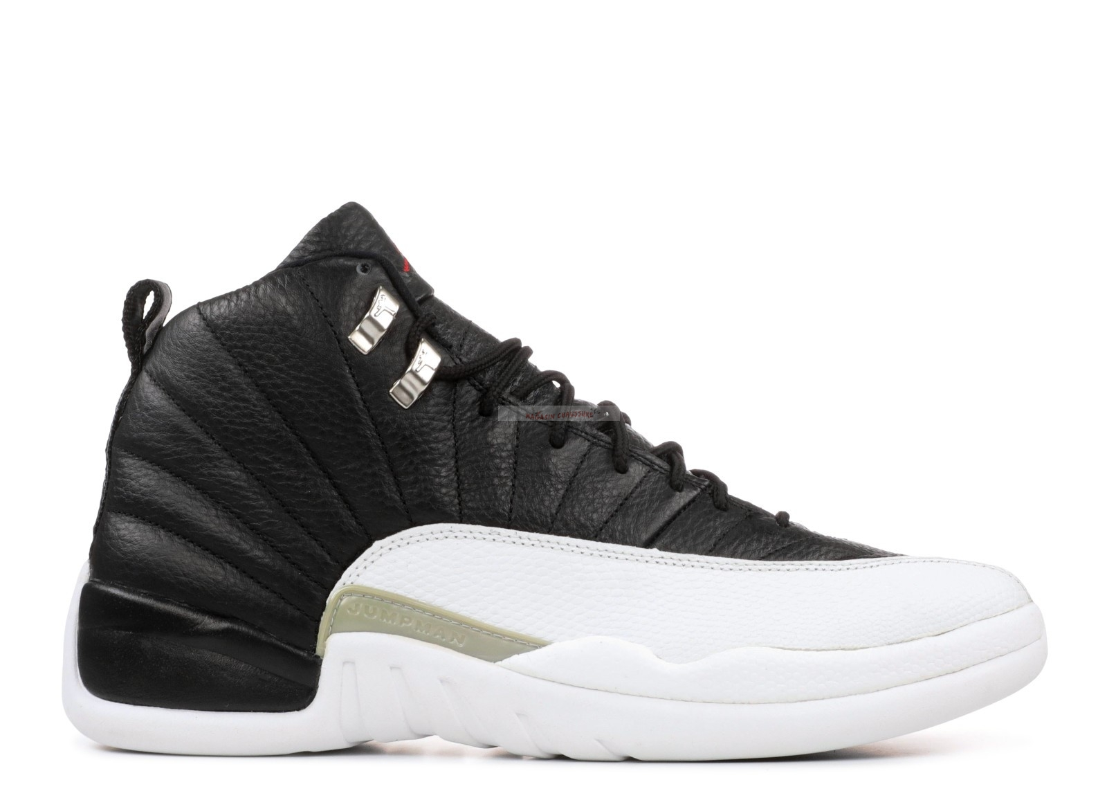 "Air Jordan 12 Retro ""Playoff"" Noir Blanc (136001-016) Chaussure de Basket"