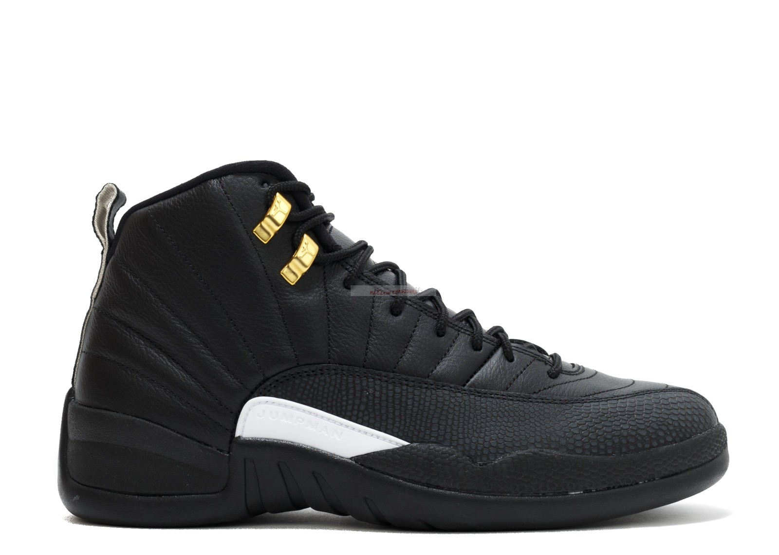 "Air Jordan 12 Retro ""The Master"" Noir Or (130690-013) Chaussure de Basket"
