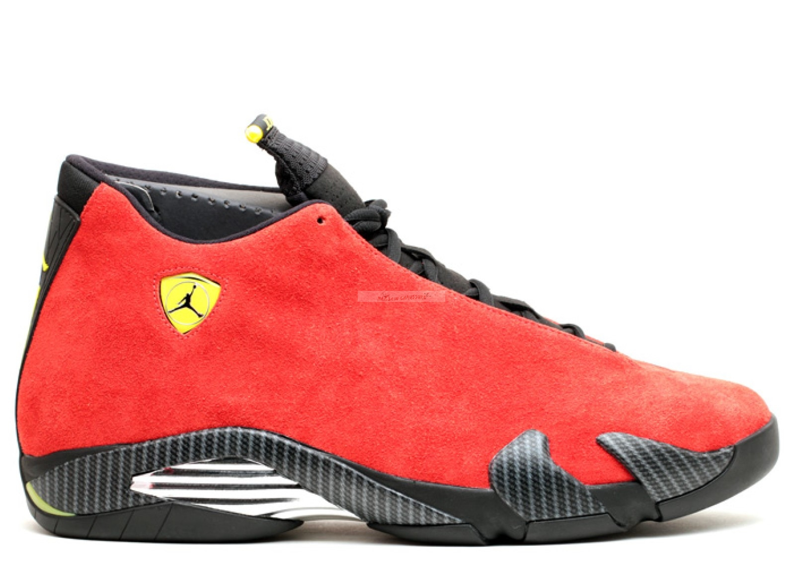 "Air Jordan 14 Retro ""Ferrari"" Rouge (654459-670) Chaussure de Basket"