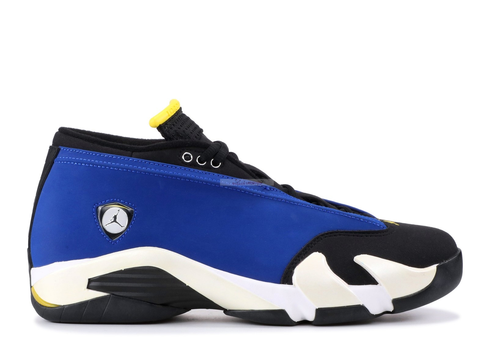 "Air Jordan 14 Retro Low ""Laney"" Bleu Blanc (807511-405) Chaussure de Basket"