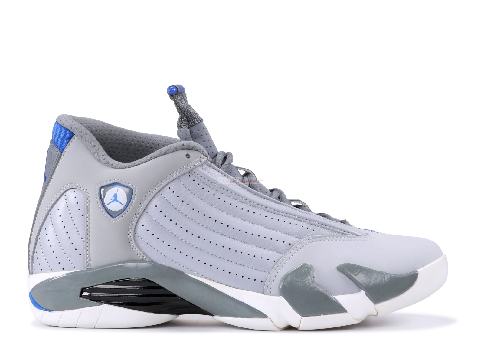 "Air Jordan 14 Retro ""Sport Blue"" Gris (487471-004) Chaussure de Basket"