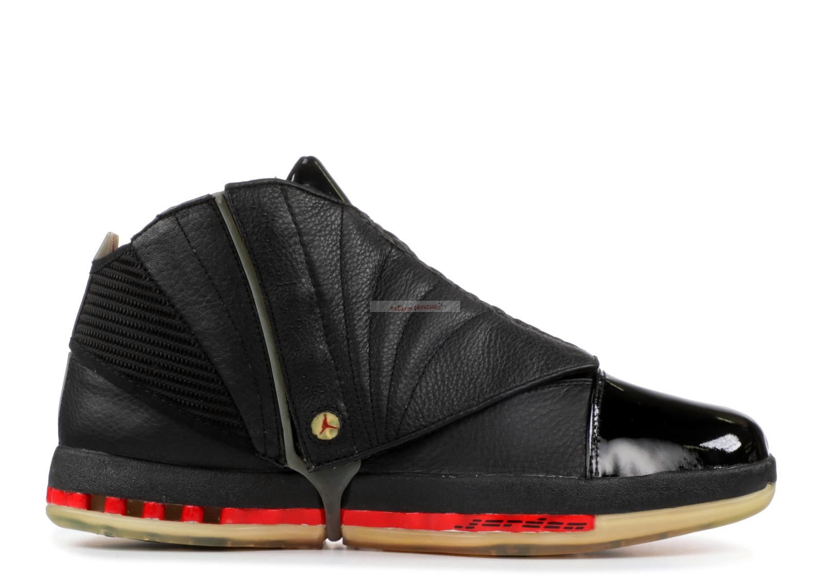 Air Jordan 16 3/4 High Men Noir (136059-061) Chaussure de Basket