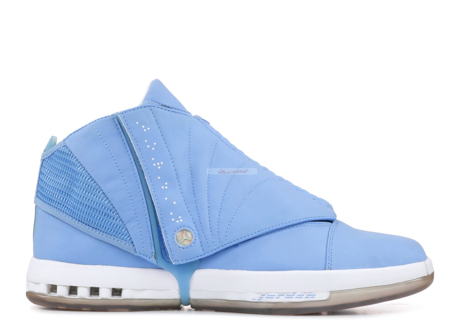 "Air Jordan 16 ""Pantone Collection"" Bleu (su08mj735z) Chaussure de Basket"