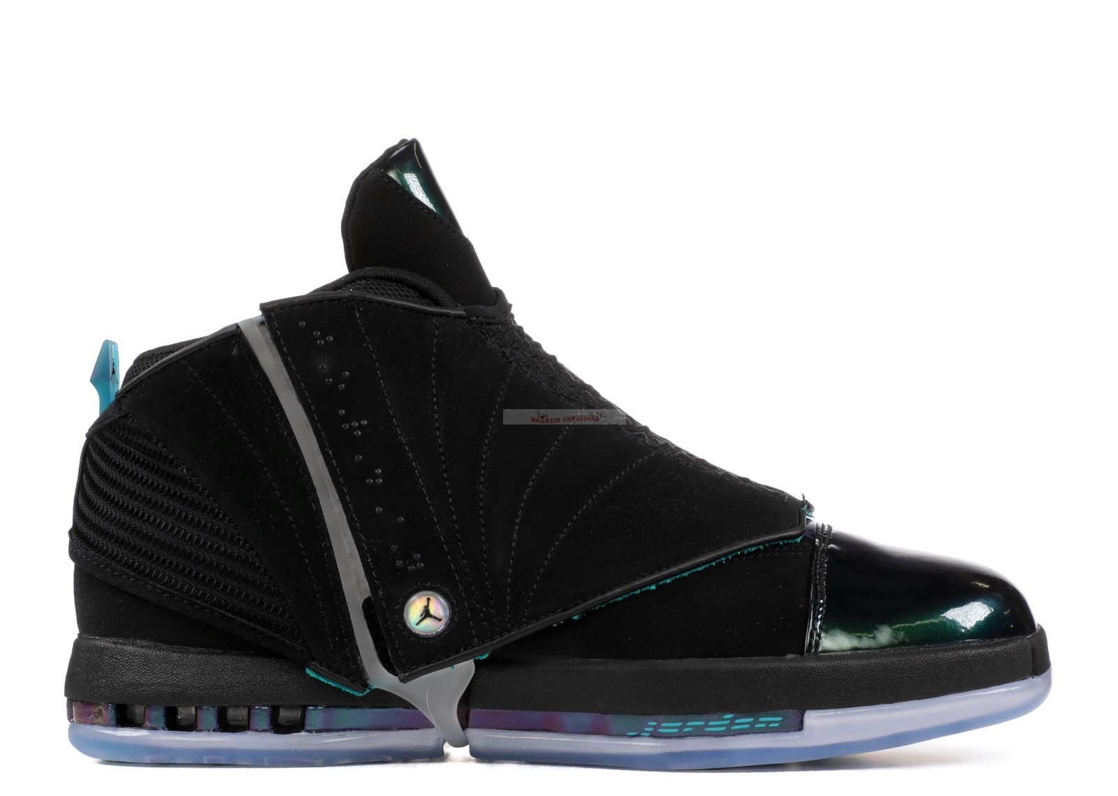 "Air Jordan 16 Retro ""Ceo Boardroom"" Noir (aa1235-003) Chaussure de Basket"