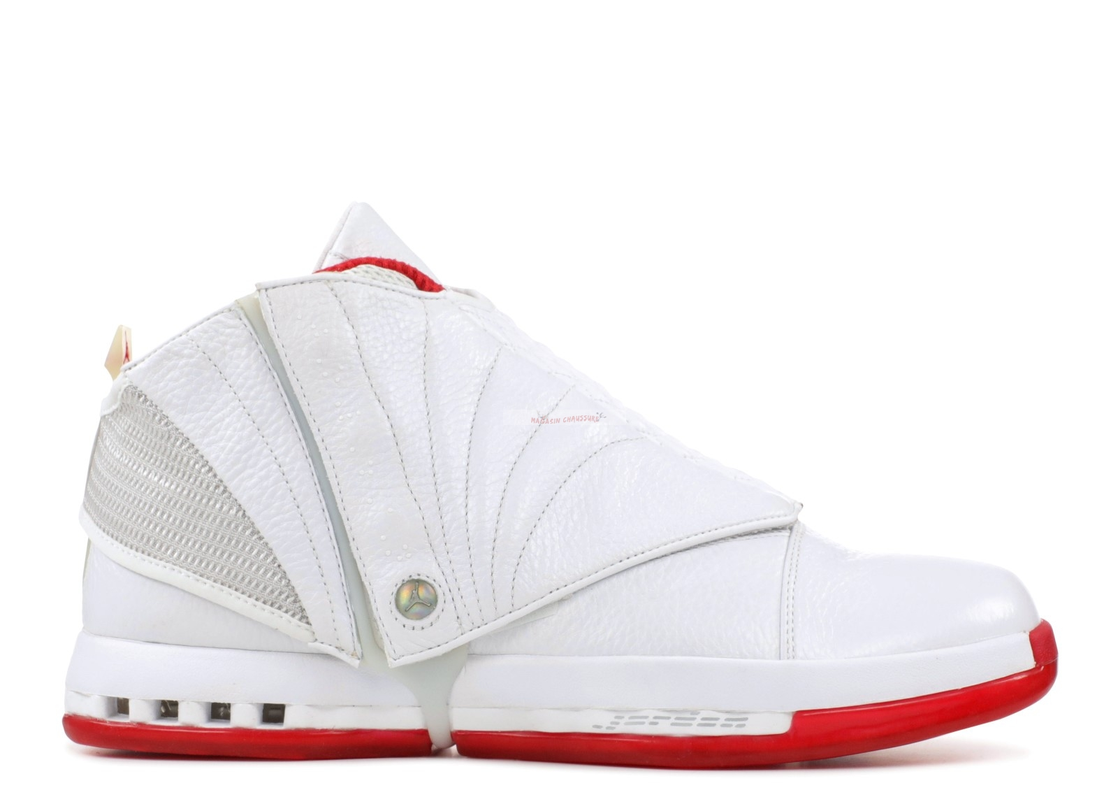 "Air Jordan 16 Retro ""History Of Flight"" Blanc Rouge (mnjdls-559z) Chaussure de Basket"