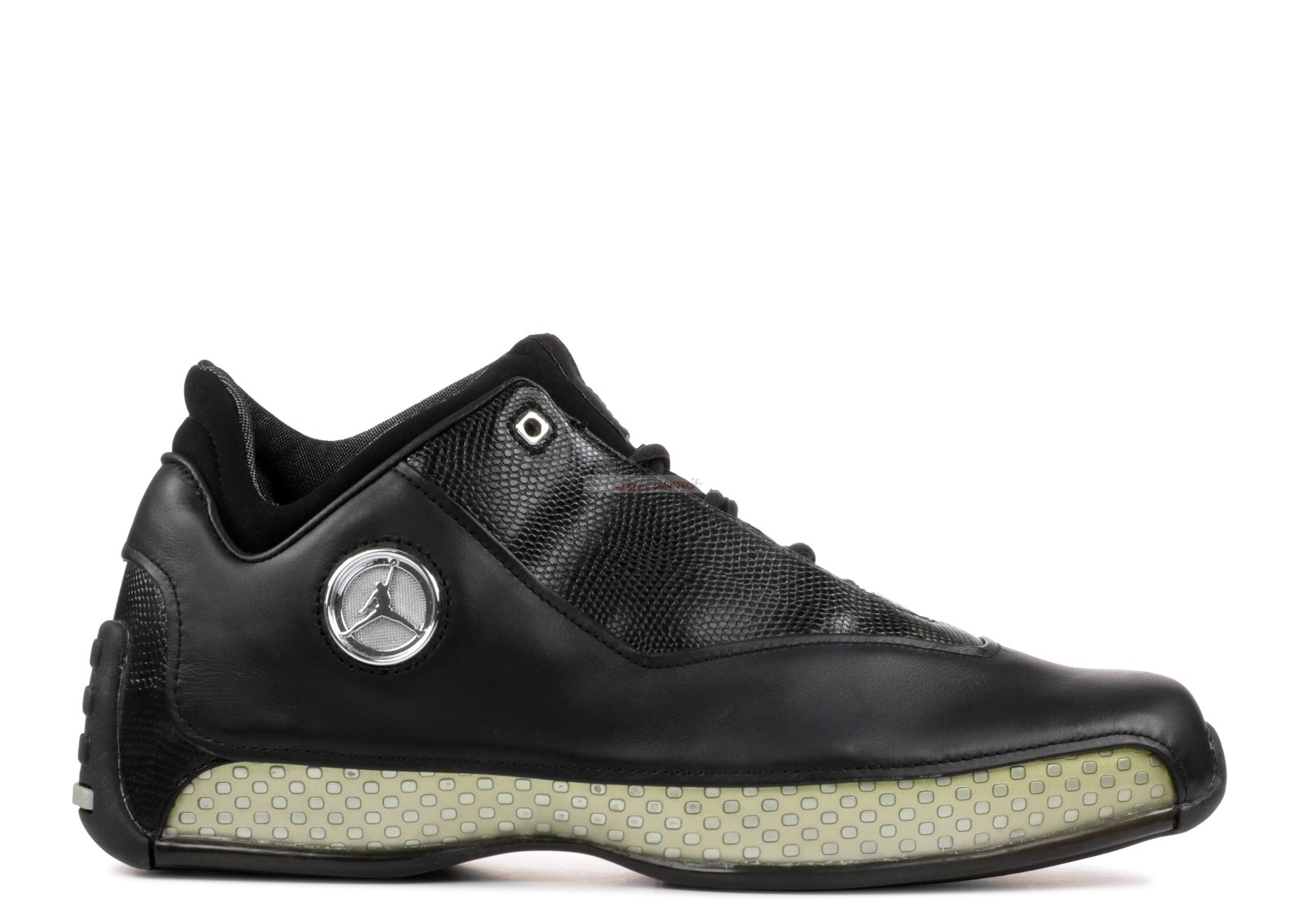 Air Jordan 18 Low Noir (306151-001) Chaussure de Basket