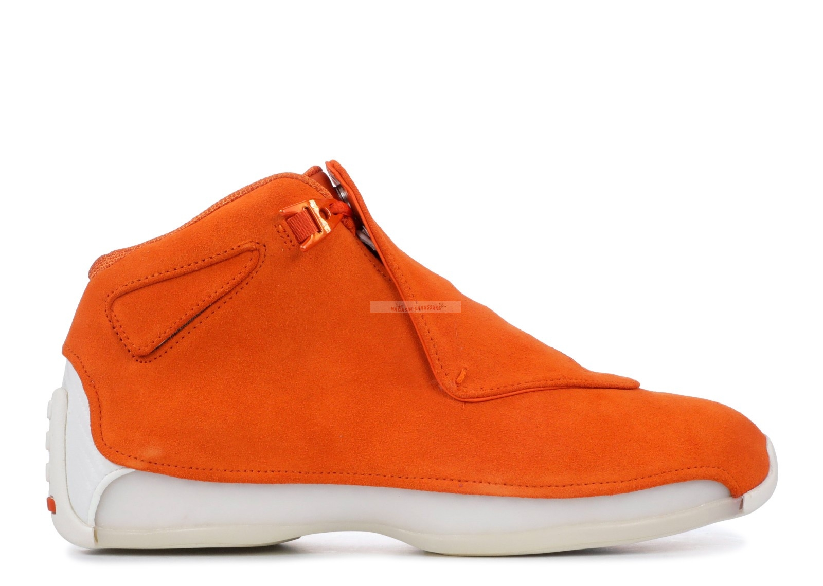 "Air Jordan 18 Retro ""Orange Suede"" Orange (aa2494-801) Chaussure de Basket"