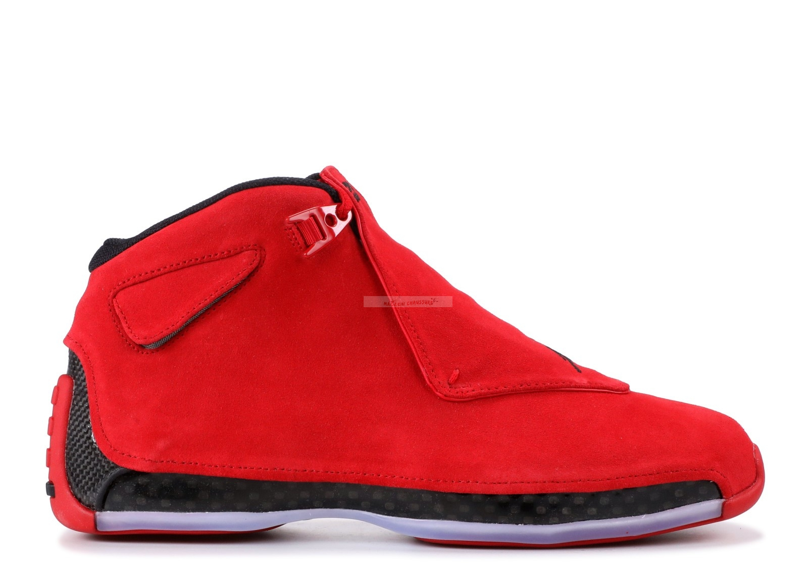 "Air Jordan 18 Retro ""Rouge Suede"" Rouge (aa2494-601) Chaussure de Basket"