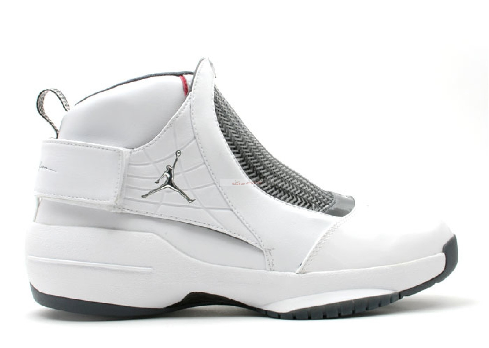 Air Jordan 19 Blanc (307546-102) Chaussure de Basket