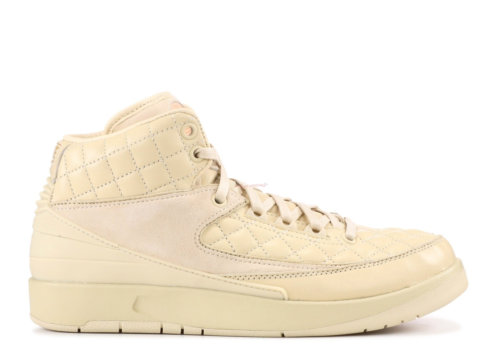 "Air Jordan 2 R Js Dn Bg (Gs) ""Don C Beach"" Beige (839604-250) Chaussure de Basket"