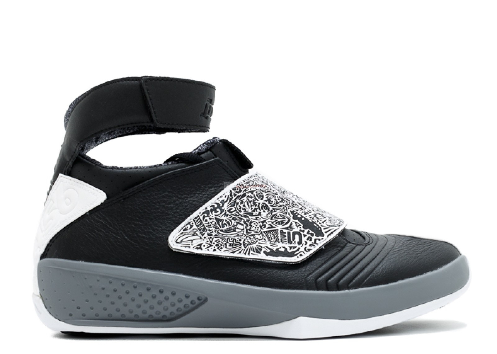 "Air Jordan 20 ""Playoff"" Noir Blanc (310455-003) Chaussure de Basket"