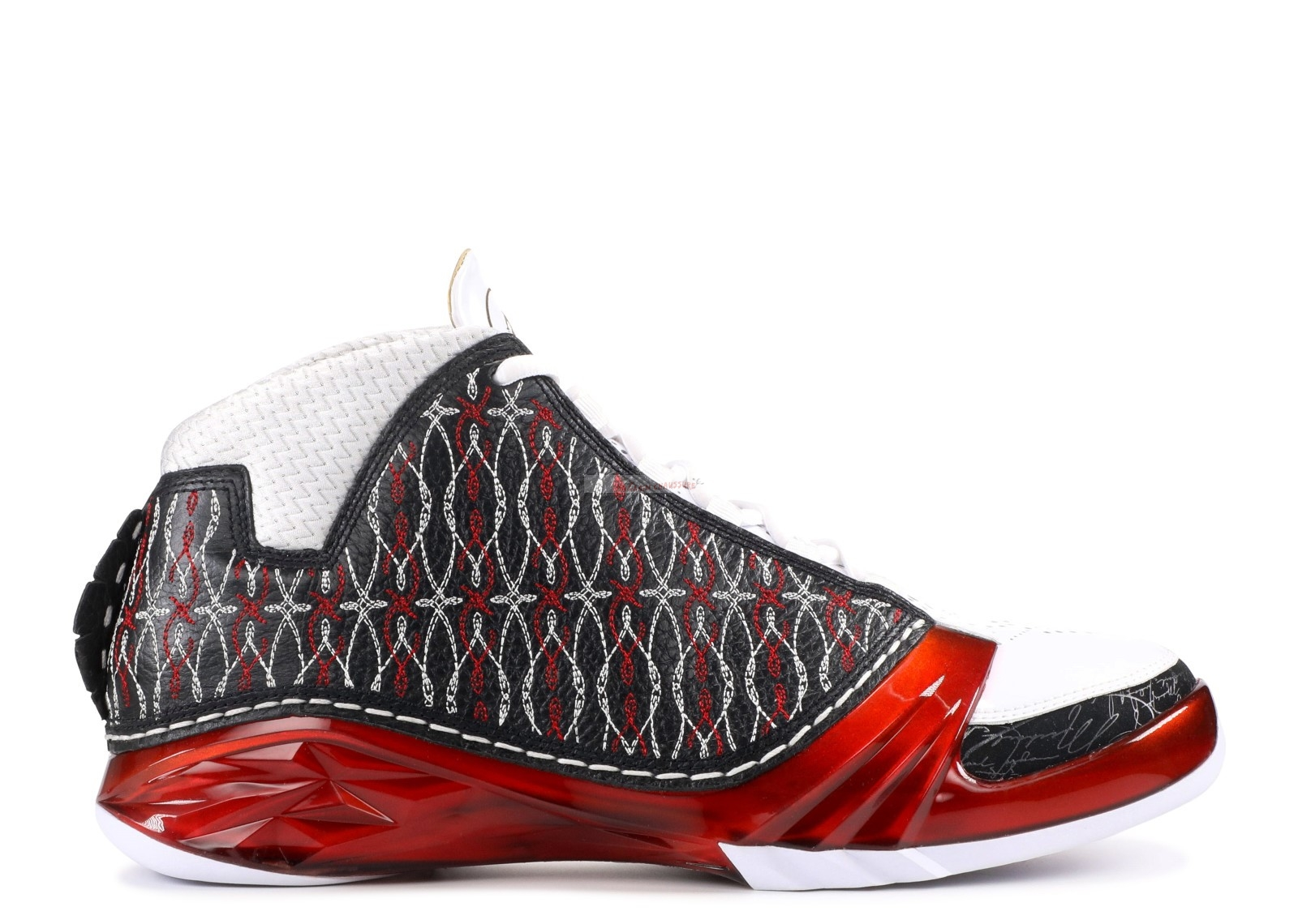 "Air Jordan 23 ""Chicago"" Noir Rouge Blanc (318376-061) Chaussure de Basket"