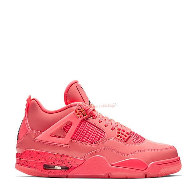 "Air Jordan 4 - Femme ""Hot Punch"" Orange (aq9128-600) Chaussure de Basket"