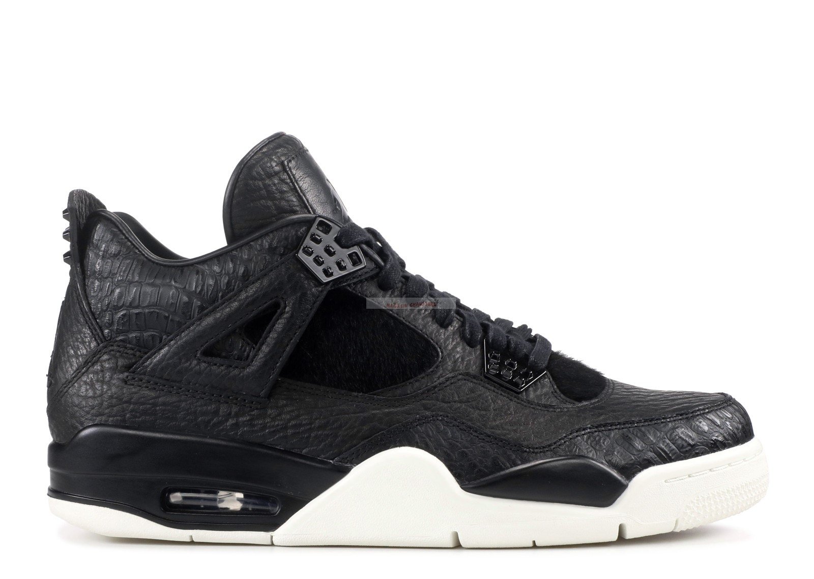 "Air Jordan 4 Premium ""Pinnacle"" Noir (819139-010) Chaussure de Basket"