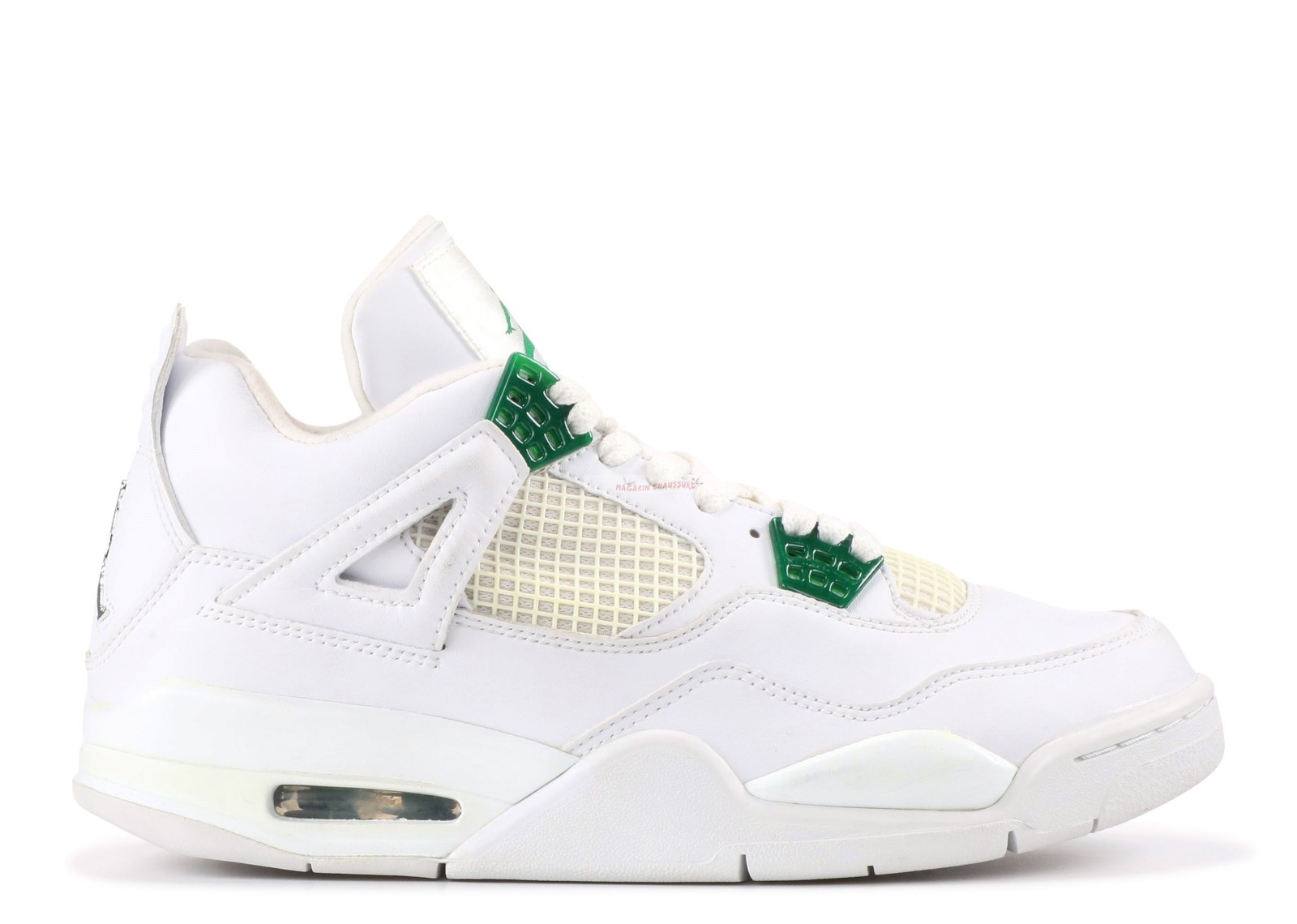 Air Jordan 4 Retro Blanc (308497-101) Chaussure de Basket