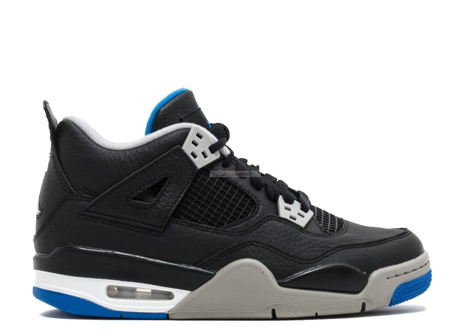 "Air Jordan 4 Retro (Gs) ""Alternate"" Noir (408452-006) Chaussure de Basket"