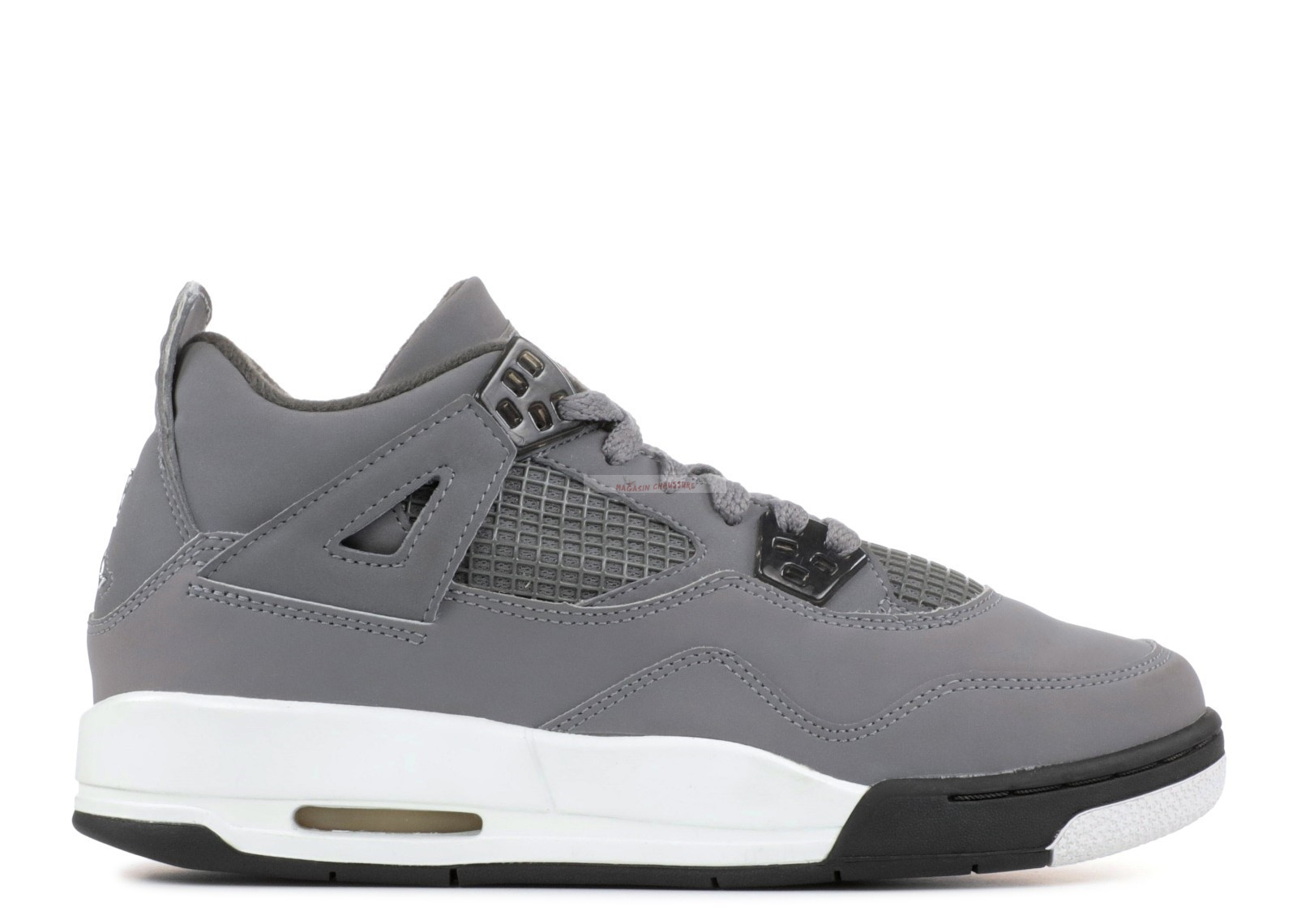 Air Jordan 4 Retro (Gs) Gris (308498-001) Chaussure de Basket