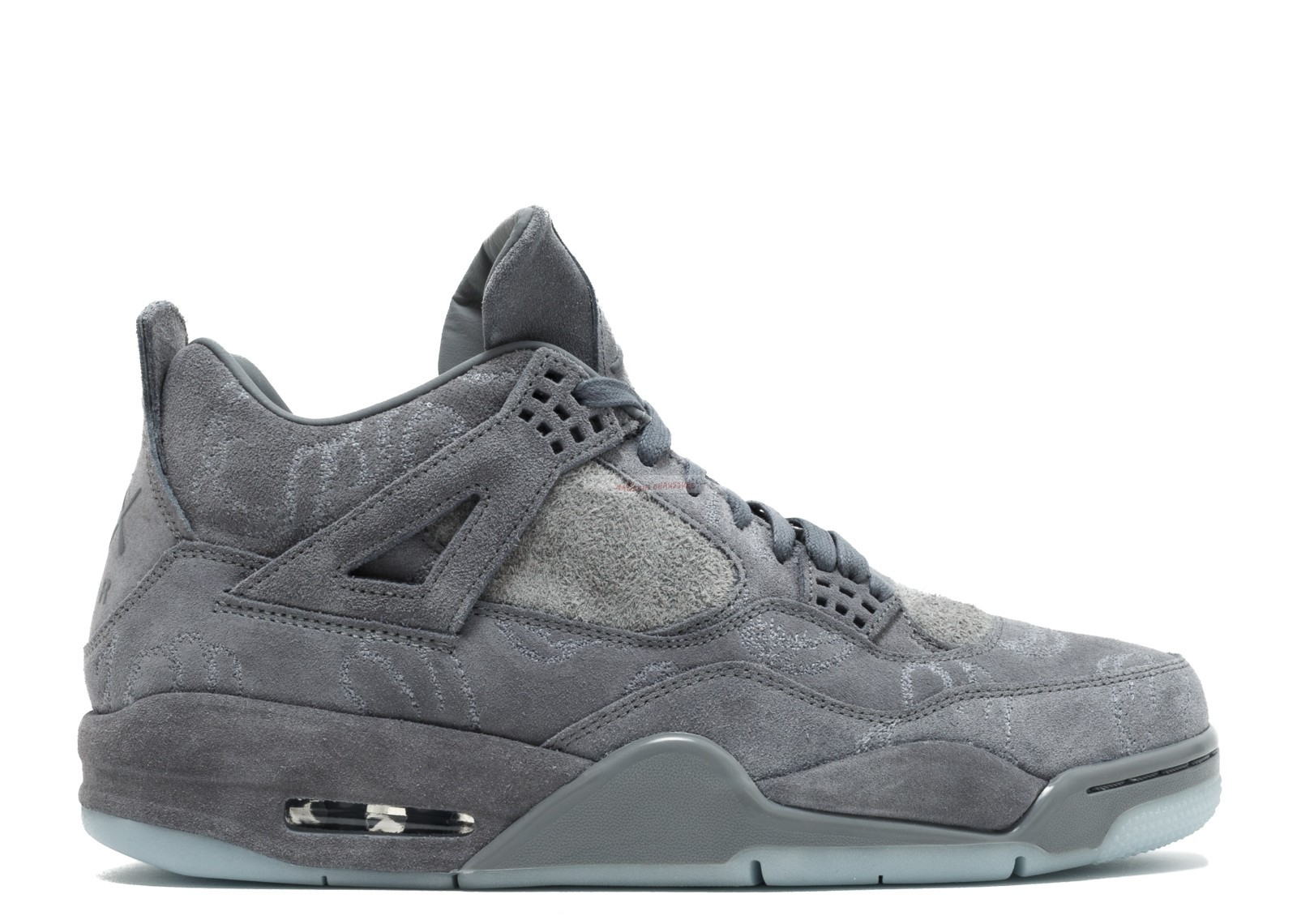 "Air Jordan 4 Retro Kaws ""Kaws"" Gris (930155-003) Chaussure de Basket"