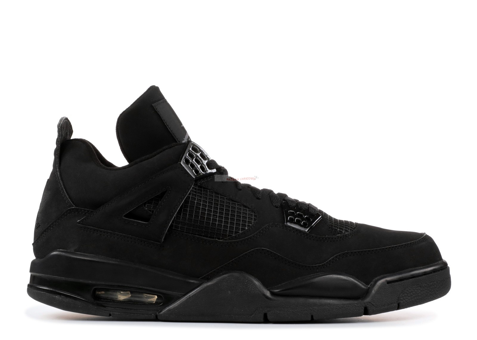 "Air Jordan 4 Retro ""Noir Cat"" Noir (308497-002) Chaussure de Basket"