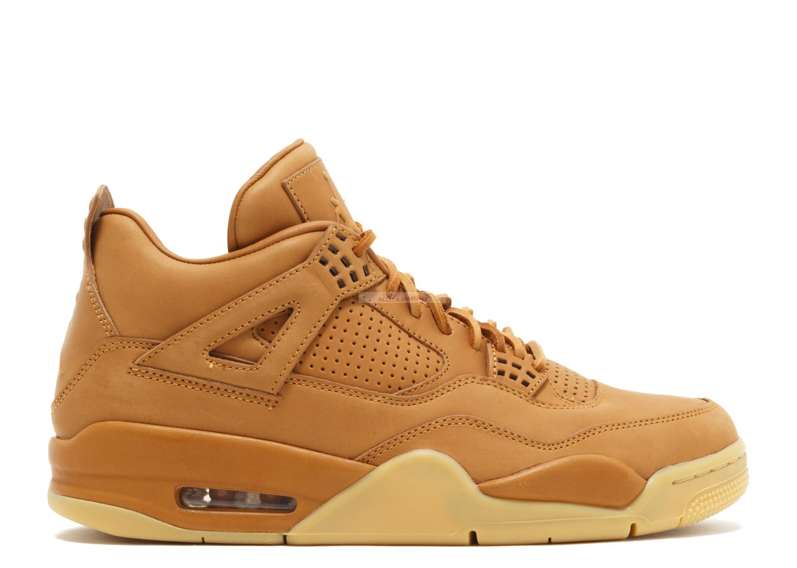 "Air Jordan 4 Retro Premium ""Pinnacle ""Wheat"""" Jaune (819139-205) Chaussure de Basket"