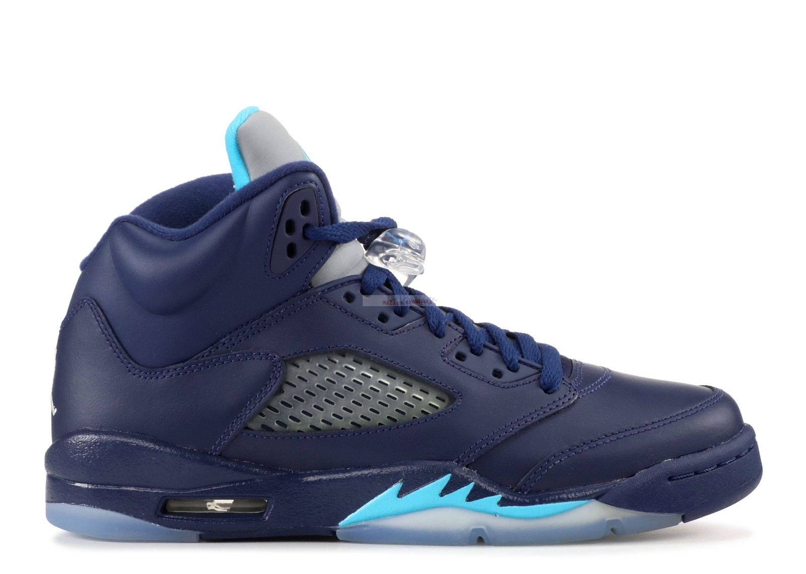 "Air Jordan 5 Retro (Gs) ""Hornets"" Marine (440888-405) Chaussure de Basket"