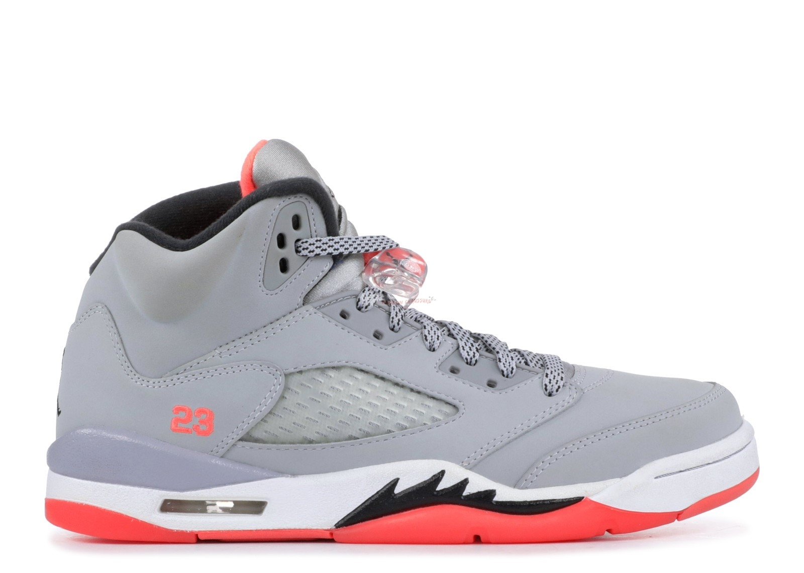 "Air Jordan 5 Retro (Gs) ""Hot Lava"" Gris Orange (440892-018) Chaussure de Basket"