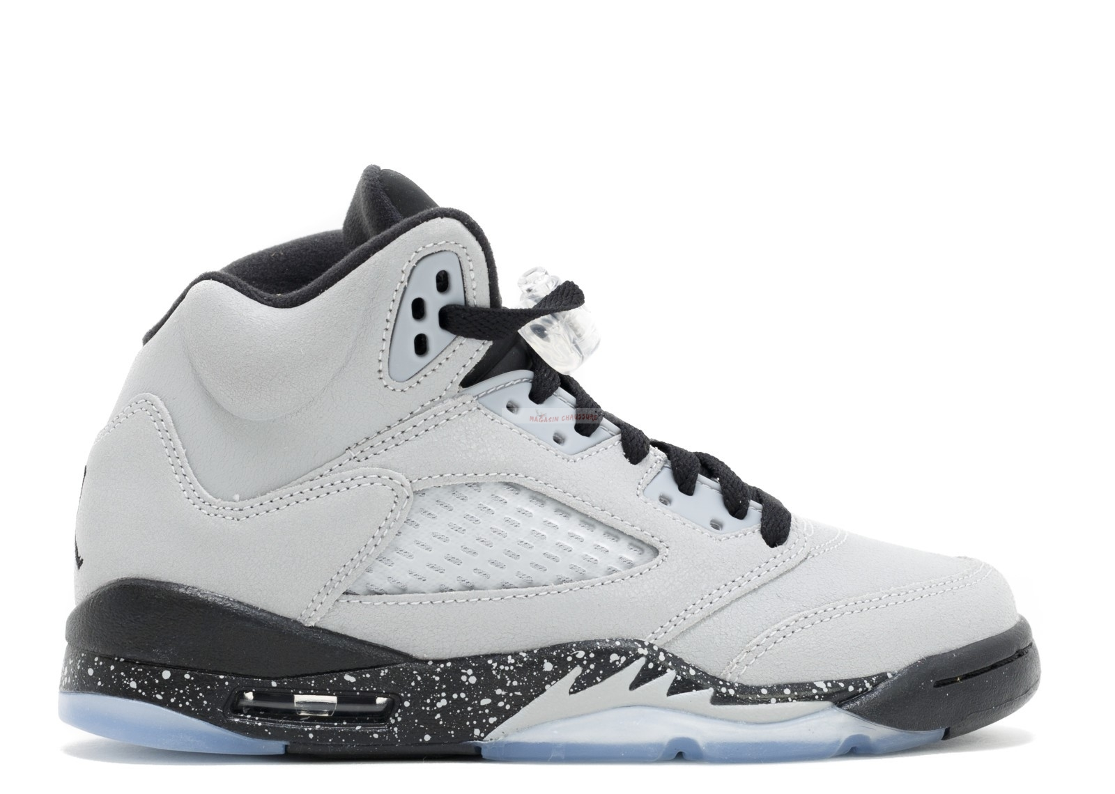 "Air Jordan 5 Retro (Gs) ""Wolf Gris"" Gris (440892-008) Chaussure de Basket"