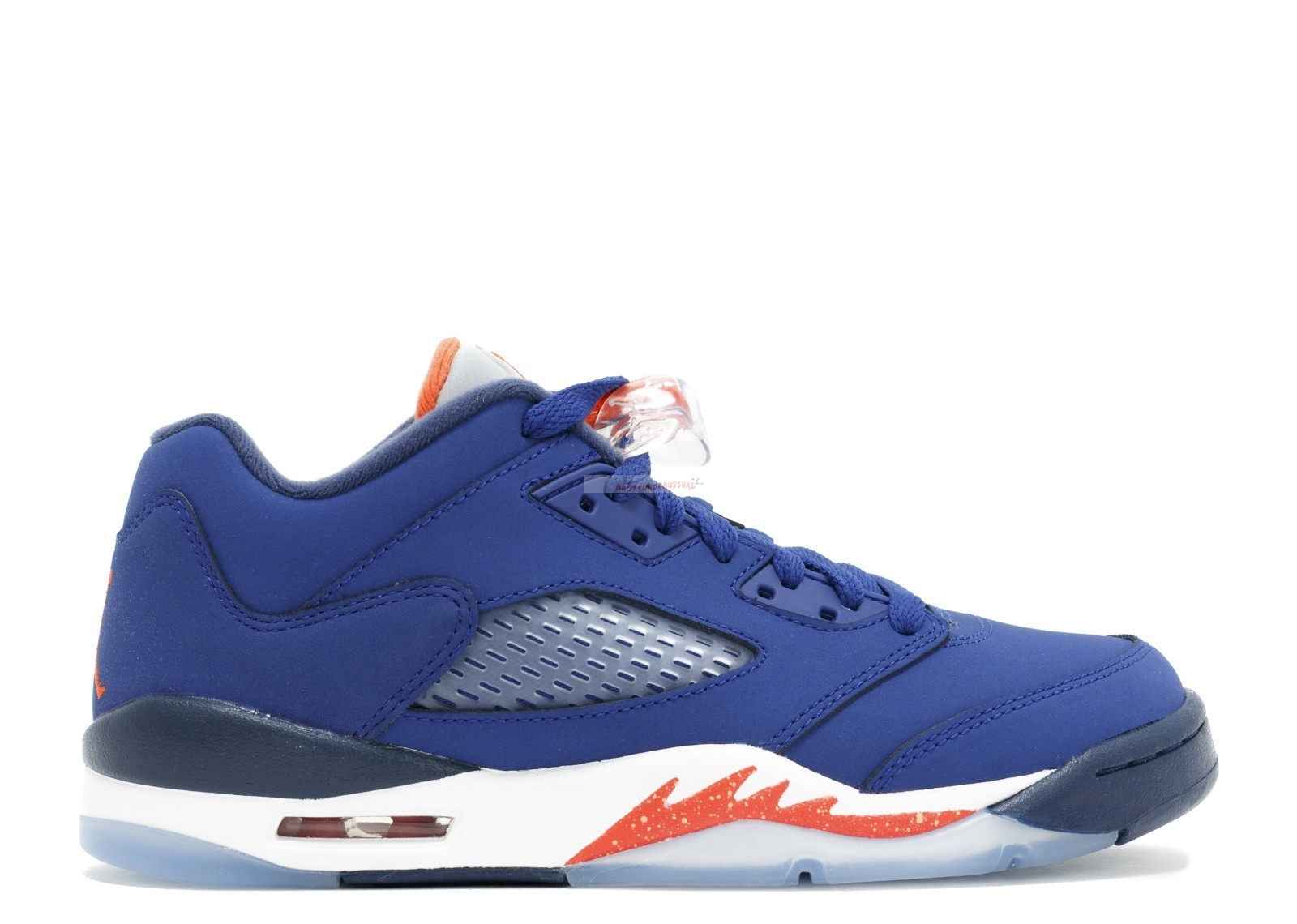 "Air Jordan 5 Retro Low (Gs) ""Knicks"" Bleu Orange (314338-417) Chaussure de Basket"
