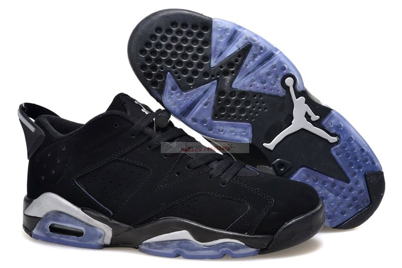 Air Jordan 6 Low Noir Chaussure de Basket