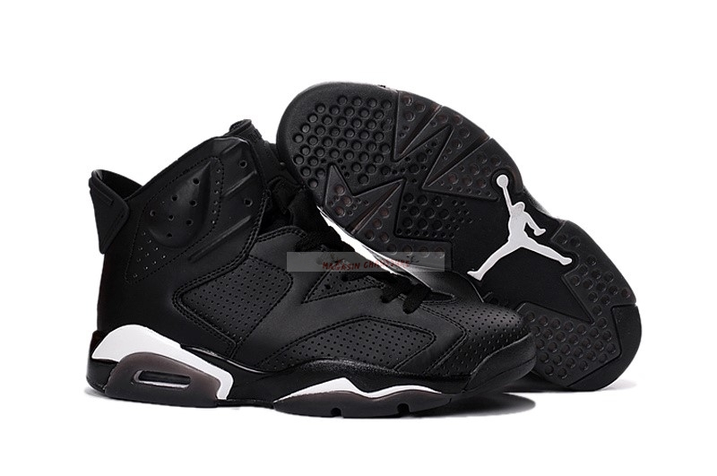 "Air Jordan 6 ""Noir Cat"" Noir Chaussure de Basket"