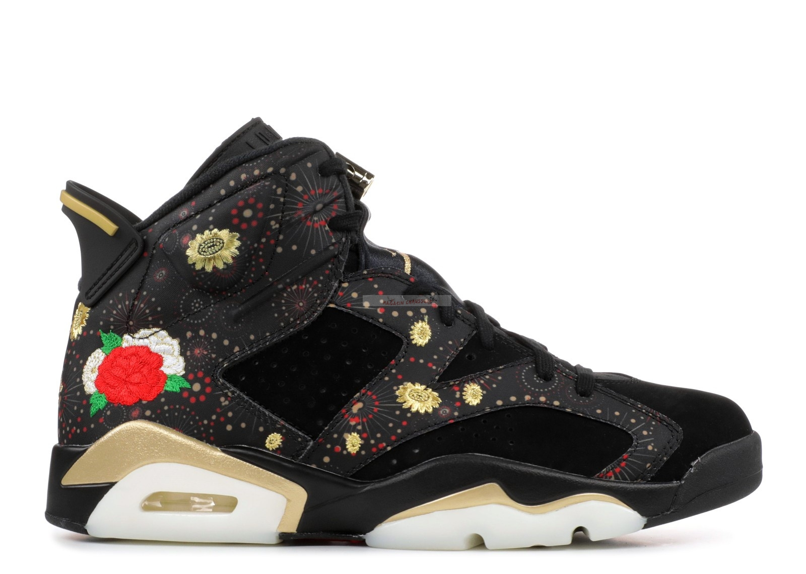 "Air Jordan 6 Retro Cny ""Chinese New Year"" Noir (aa2492-021) Chaussure de Basket"