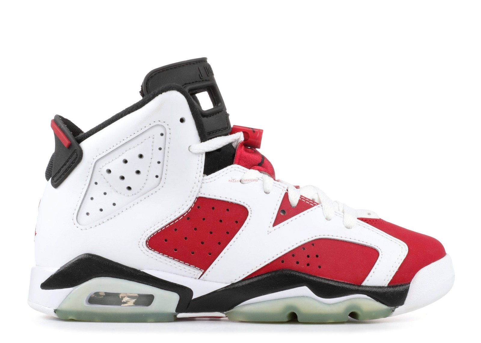 "Air Jordan 6 Retro (Gs) ""Carmine"" Rouge Blanc (384665-160) Chaussure de Basket"
