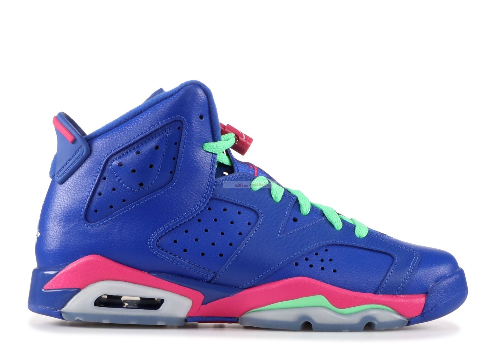 "Air Jordan 6 Retro (Gs) ""Game Royal"" Bleu (543390-439) Chaussure de Basket"