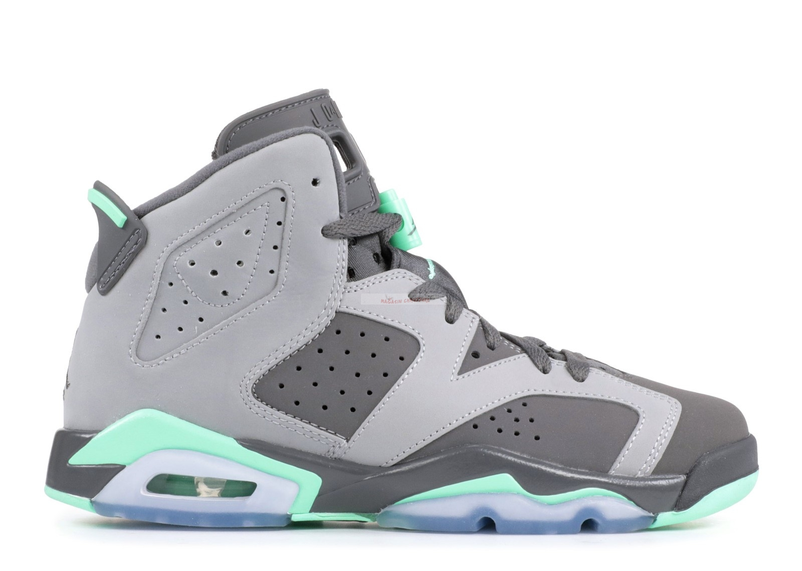 Air Jordan 6 Retro (Gs) Gris (543390-005) Chaussure de Basket