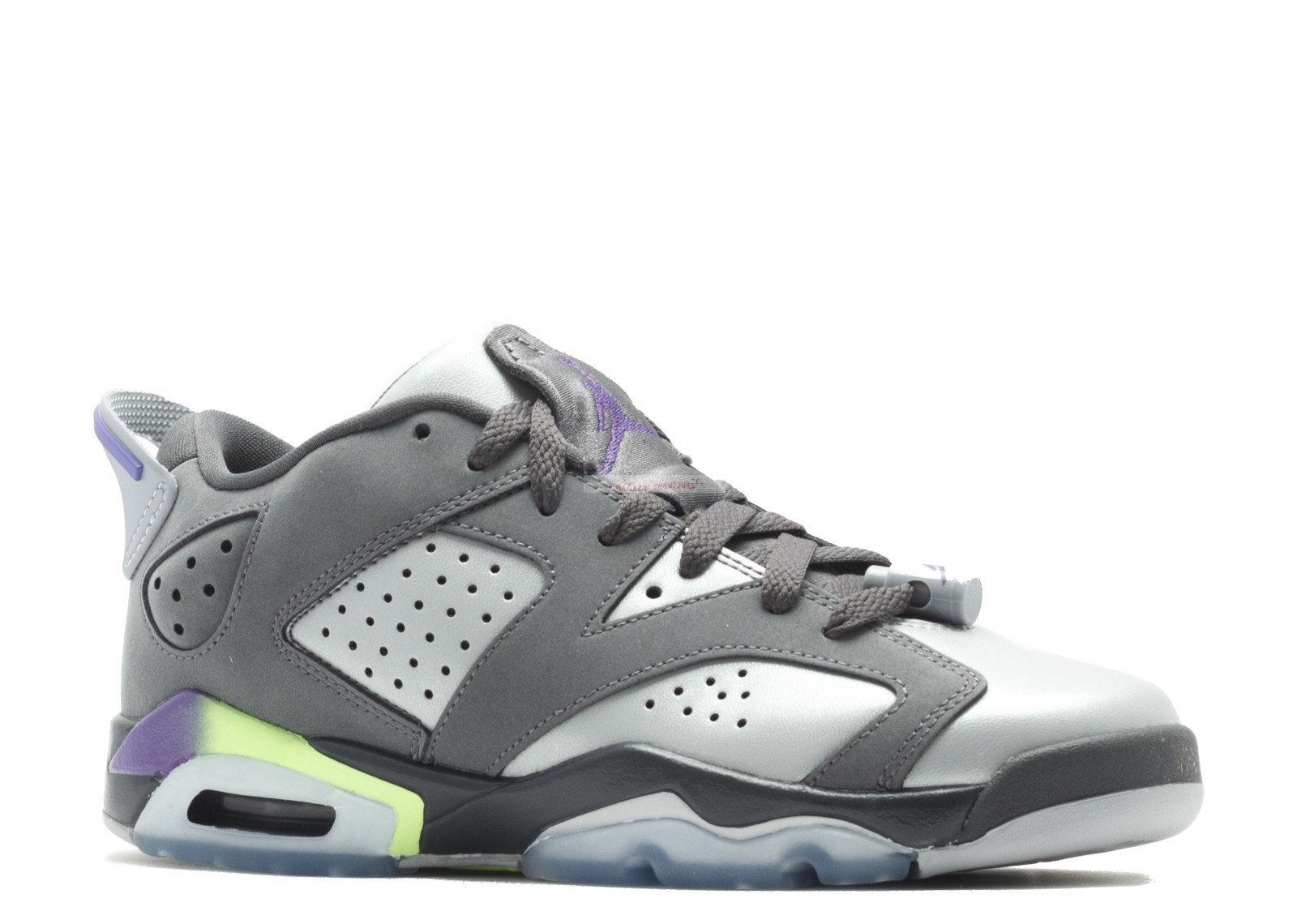Air Jordan 6 Retro Low (Gs) Gris (768878-008) Chaussure de Basket