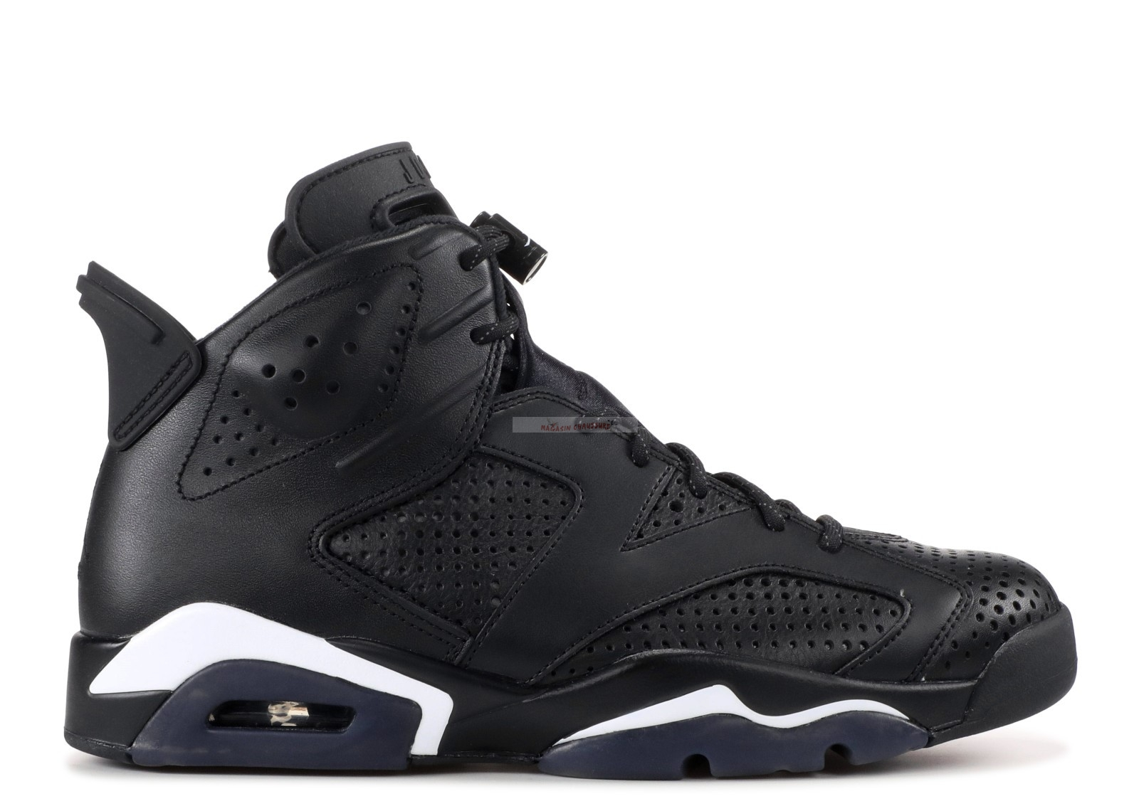 "Air Jordan 6 Retro ""Noir Cat"" Noir (384664-020) Chaussure de Basket"