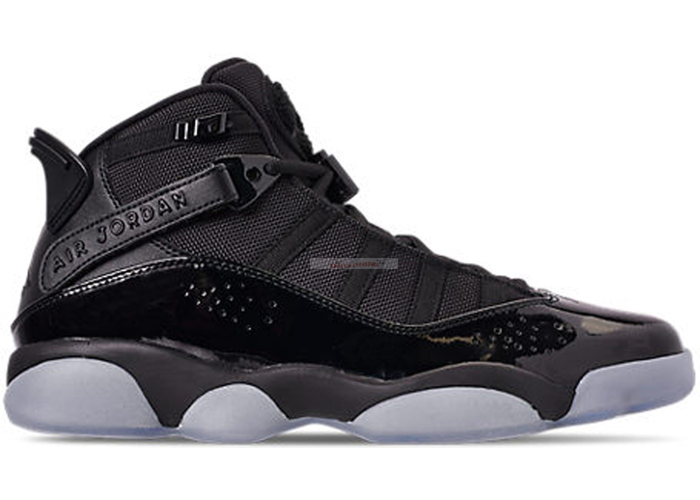 "Air Jordan 6 Rings ""Noir Ice"" Noir (322992-011) Chaussure de Basket"